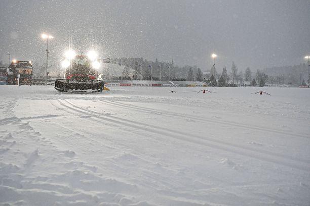 Vantaan Hakunilassa kilpaillaan tiistaina Suomen cupin osakilpailut.