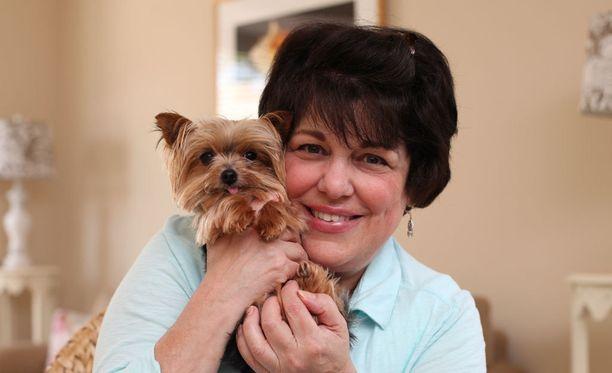 Lucy tuo iloa myös hoitajille.