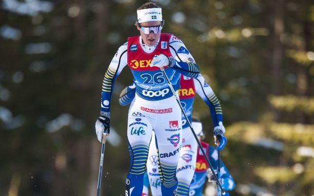 Elina Rönnlund on 28:s Tour de Skillä neljän etapin jälkeen.