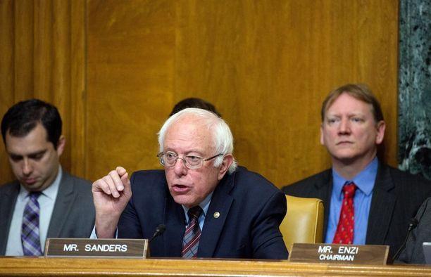 Bernie Sanders toivoi pikaista paranemista ammuskelussa haavoittuneille.