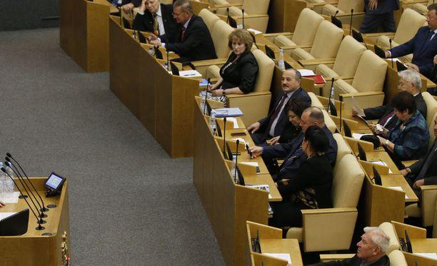 Duuman kansanedustajan Oleg Nilovin mielestä on anteeksiantamatonta juhlia halloweenia samana päivänä, kun tuhoisa lentoturma tapahtui.