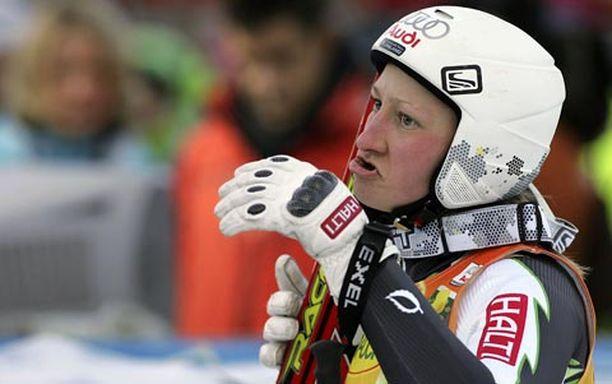 Tanja Poutiainen jäi vain 0,07 sekunnin päähän palkintopallista.