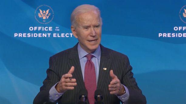 Joe Biden tulee vannomaan virkavalansa keskiviikkona 20. tammikuuta.