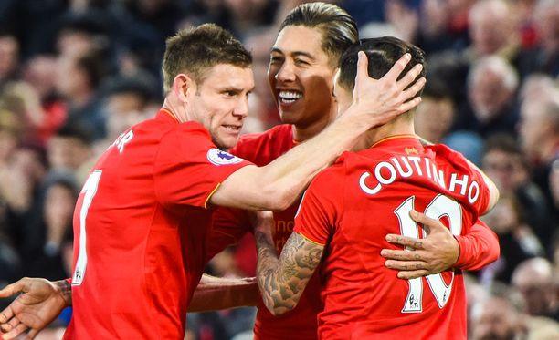 Vetovihje luottaa Liverpooliin tänään.