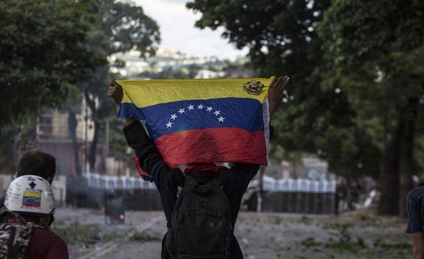 Venezuelassa on ollut raju vankilamellakka. Kuvituskuva