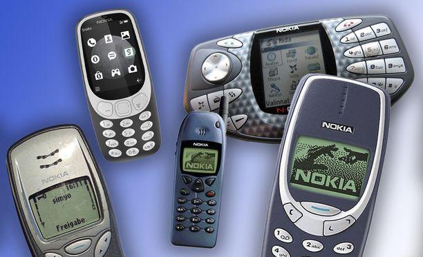 Muistatko vanhat Nokia-puhelimet?