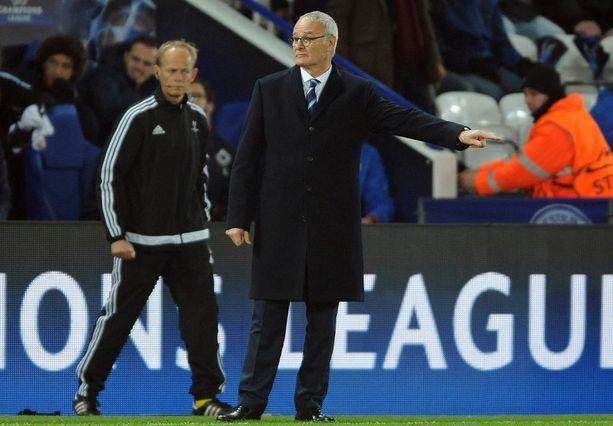Claudio Ranieri toivoo voittovireen tarttuvan myös kotimaan liigapeleihin.