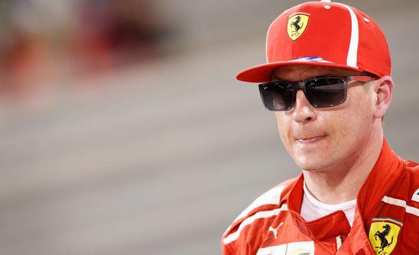 Kimi Räikkönen lähetti Francesco Cigarinille parane pian -terveiset Instagramissa.