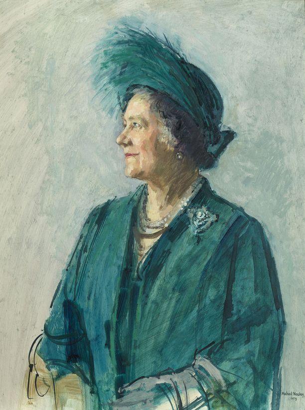 Michael Noakesin teos kuningataräiti Elisabetista vuodelta 1973.