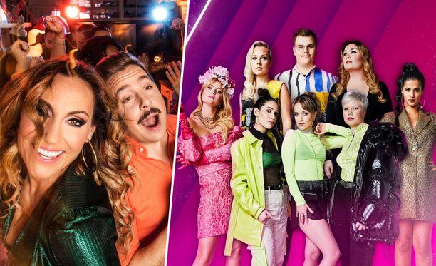 Jos haluaa nähdä sekä Suomen että Ruotsin viisufinaalit tv:stä tänä iltana, sekin onnistuu. TV1 näyttää ensin Suomen-kisan suorana lähetyksenä ja heti perään Melodifestivalenin, joskaan ei suorana.