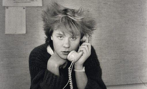 Jussi Hakulisen fanit kehuvat miehen tehneen hyviä kappaleita Yö-yhtyeelle. Kuva vuodelta 1985.
