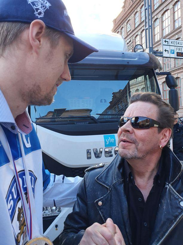 Pate Mustajärvi kiitti Marko Anttilaa MM-kullasta.
