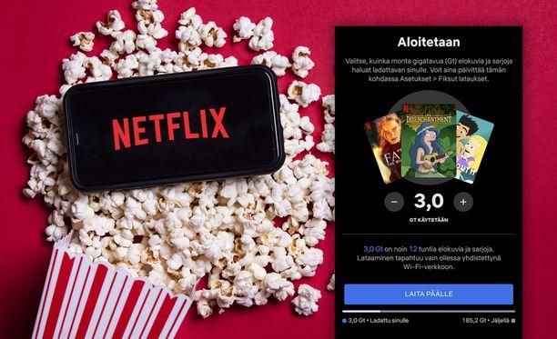 Netflix Lataa