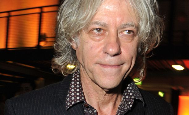 Bob Geldof on hankkeen puuhamies.