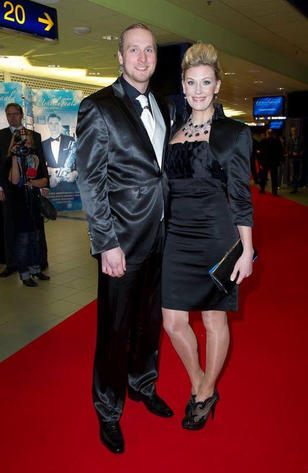 Robert Helenius ja Sandra Helsing.