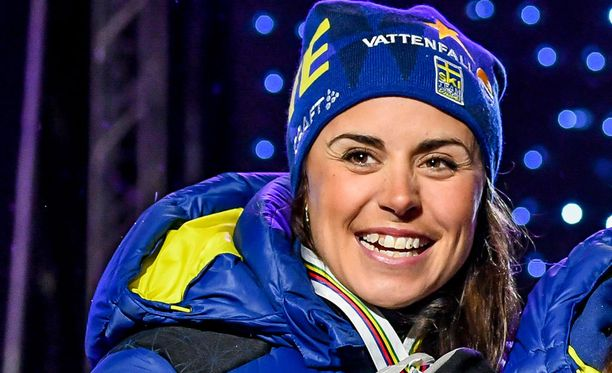 Anna Haag joutui joukkuetoverien jekun kohteeksi.