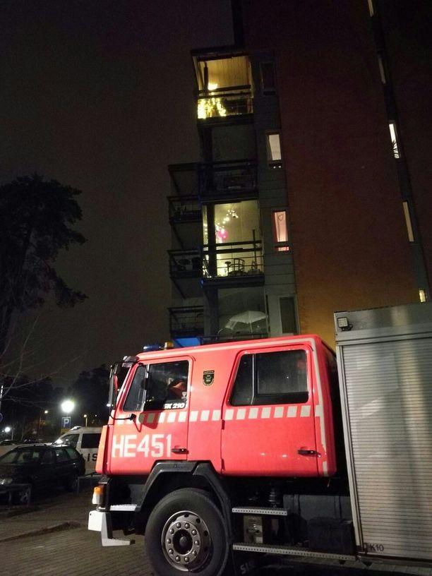 Huoneistopalo vaati neljä kuolonuhria.
