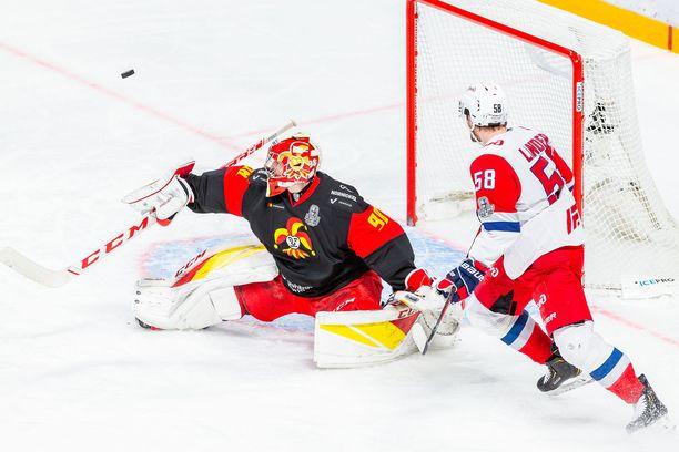 Jokerit selvitti tiensä jatkoon KHL:n pudotuspeleissä, mutta koronavirus sai joukkueen päättämään kautensa ennanaikaisesti.