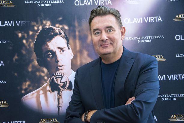 Timo Koivusalo sai kimmokkeen Olavi Virta -elokuvan tekemiseen jo 20 vuotta sitten.