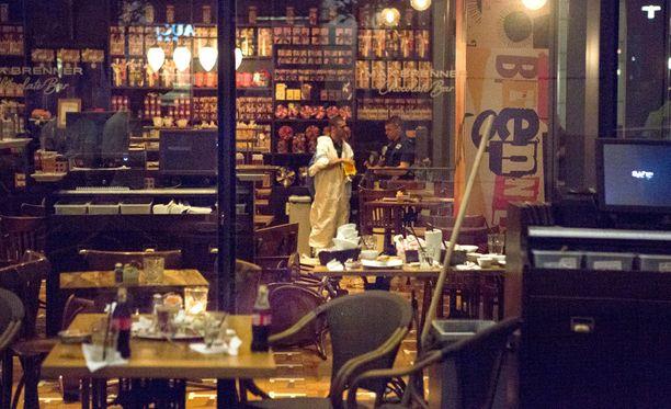 Isku tehtiin suositussa kaupunginosassa, jossa sijaitsee paljon trendikkäitä kahviloita ja ravintoloita.