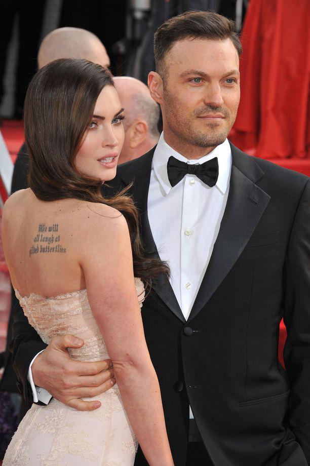 Megan Fox ja Brian Austin Green olivat naimisissa kymmenen vuotta.