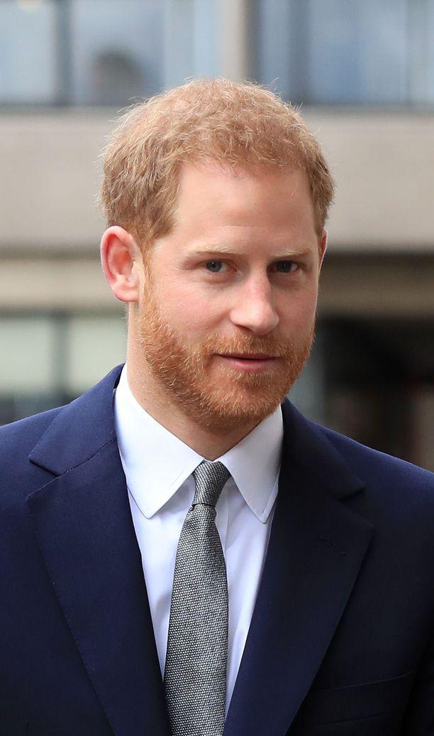 Prinssi Harrysta tuli kummisetä.