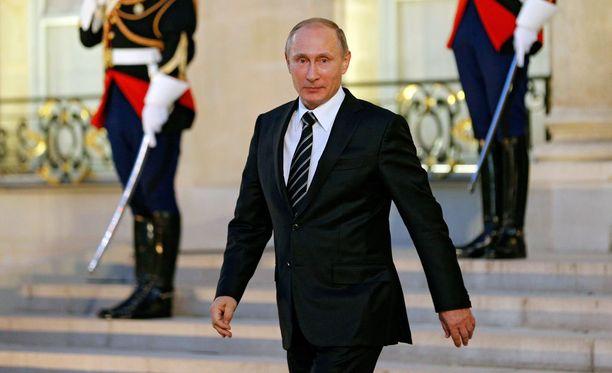 Venäjän presidentti Vladimir Putin sanoo maansa taistelevan Syyriassa Isisiä vastaan.