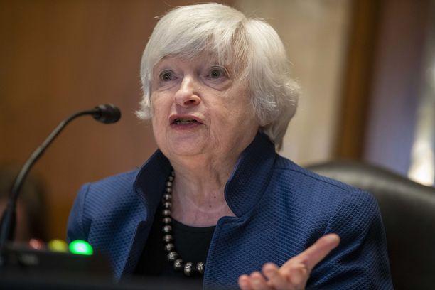 Yhdysvaltojen valtiovarainministeri Janet Yellen on varoittanut velkakaton laiminlyönnistä.