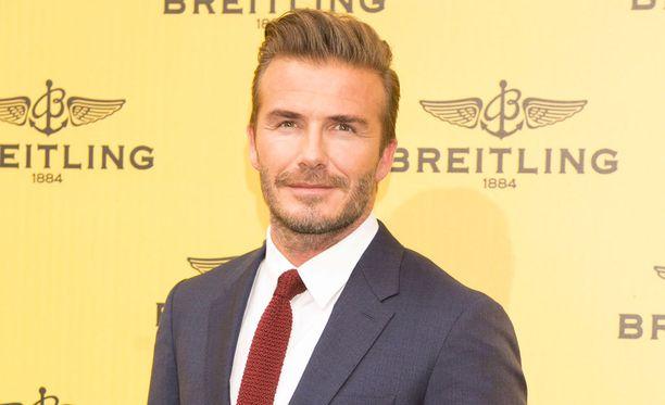 David Beckham pyrkii nurmikolta valkokankaalle.