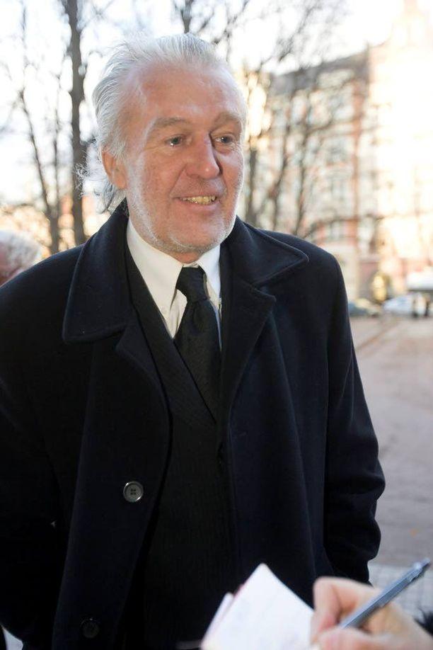 Valotaiteilija Ekku Peltomäki vuonna 2008.