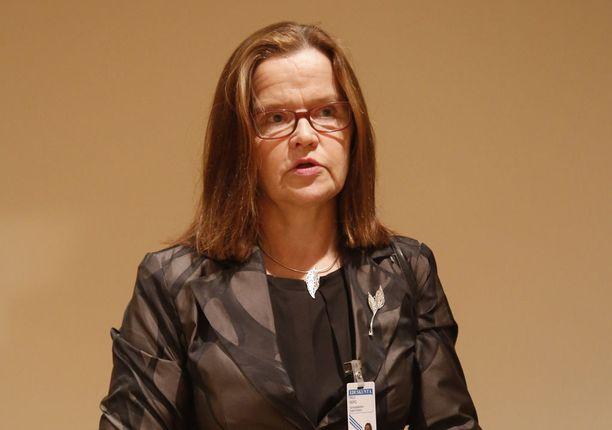 Sisäministeriön kansliapäällikkö Päivi Nerg.