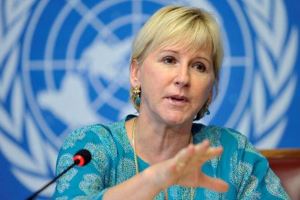 Margot Wallström on varoittava esimerkki.
