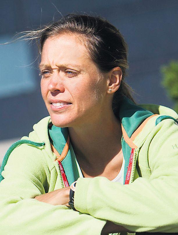 Pia Sundstedt hyppäsi uudestaan satulaan maastopyöräilyn merkeissä.
