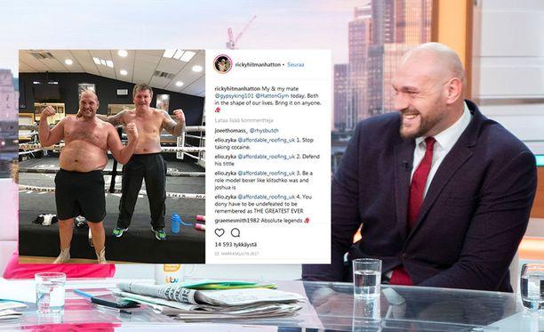 Tyson Fury on käynyt läpi muodonmuutoksen.