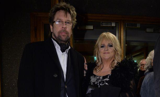 Kalle Munck ja Marion edustivat Linnan juhlissa 2015.