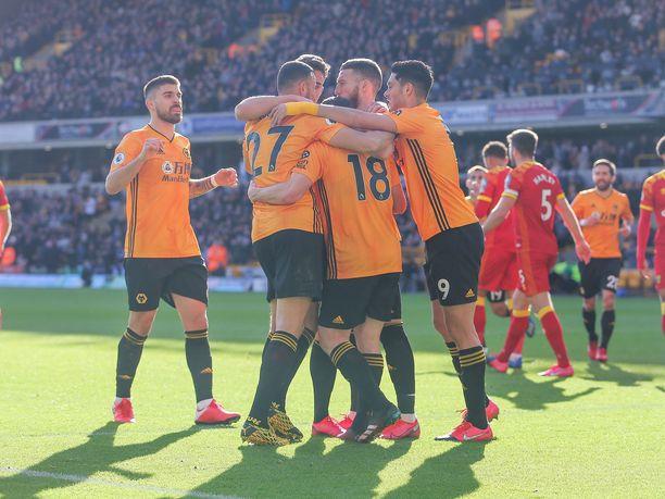 Juhliiko Wolverhampton Wanderers myös lauantaina?