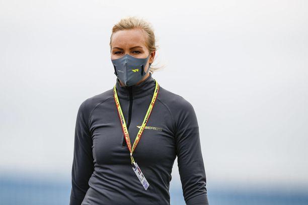 Emma Kimiläinen kohensi asemiaan W Series -sarjassa.