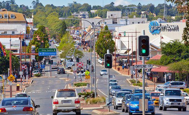 Toowoomba on kaunis puutarhakaupunki noin 120 kilometriä Brisbanesta länteen.
