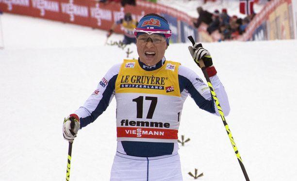 Aino-Kaisa Saarinen oli viidestoista Tour de Skillä 2017-18.