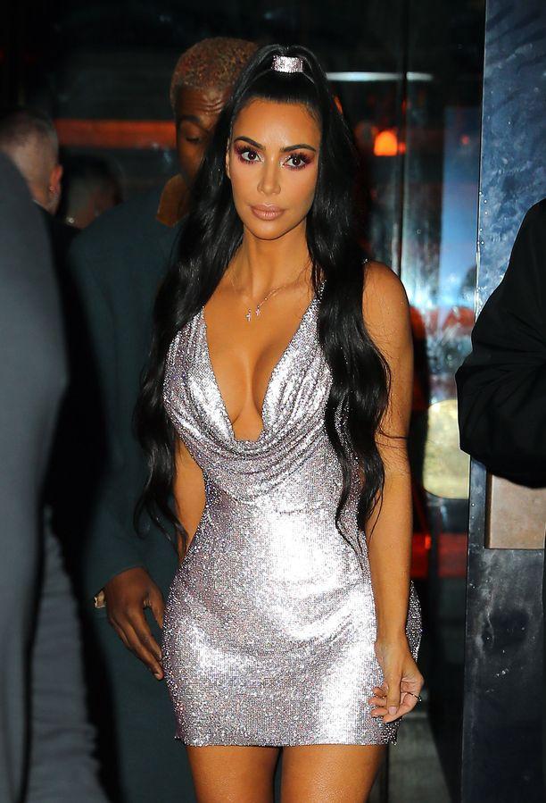 Kuvassa Kim joulukuun alussa.