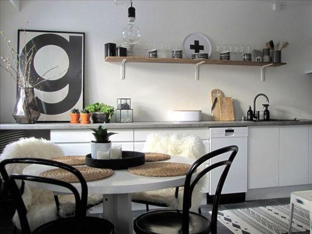Tämä rivitalokoti on osallistunut Suomen kaunein koti -ohjelmaan.