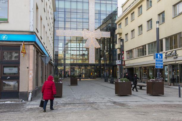 Kauppakeskus Valkea on Oulun keskustassa. Arkistokuva.