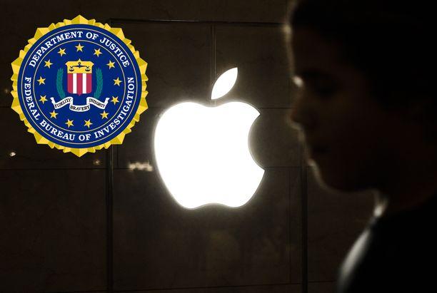 FBI ja presidentti Donald Trump ovat tyytymättömiä Applen periaatteisiin.