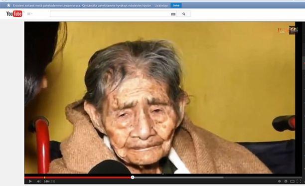 Leandra Becerra Lumbreras ei voi todistaa ikäänsä.