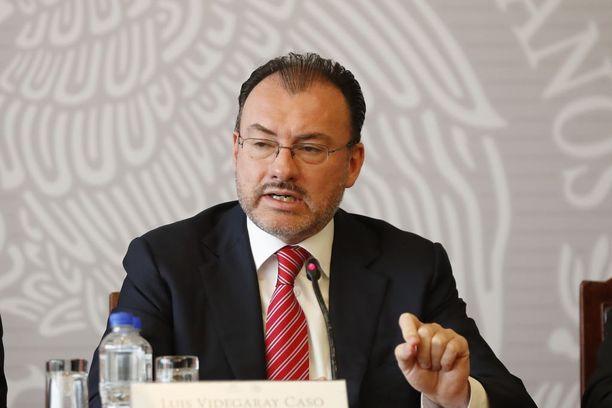 Luis Videgaray kertoi tiistaina Meksikon tuomitsevan Yhdysvaltojen nykyiset siirtolaiskäytännöt.