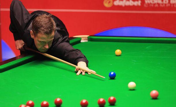 Robin Hullin tie nousi pystyyn UK Championshipissä.