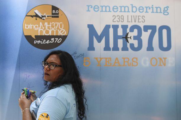 Malesialaiskoneen katoamisesta tulee nyt kuusi vuotta.