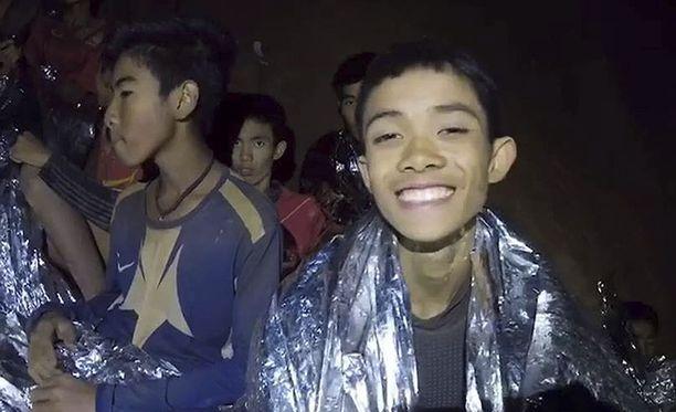 Tältä pojat näyttivät, kun heidät löydettiin viikon kadoksissa olon jälkeen.