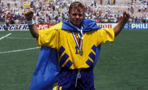 Tomas Brolin oli suuri syy Ruotsin MM-pronssiin vuoden 1994 kisoissa Yhdysvalloissa.