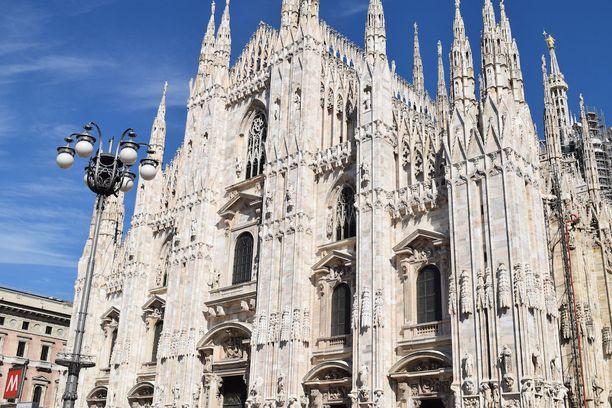 Milanon tuomiokirkko eli Duomo di Milano on Euroopan toiseksi suurin katedraali.